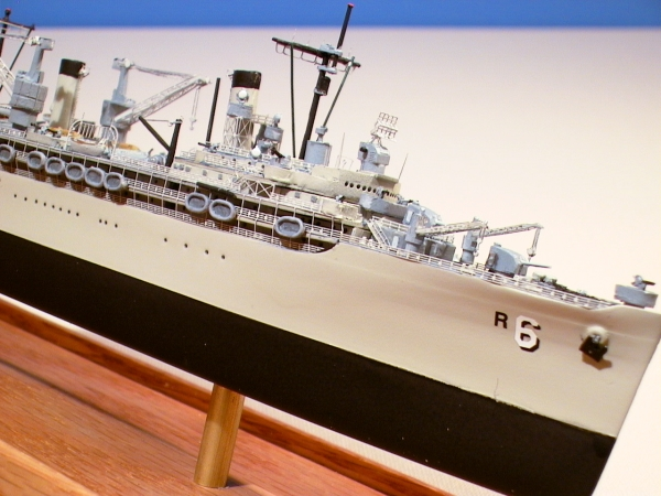 Navy Repair Ship Model Ajax