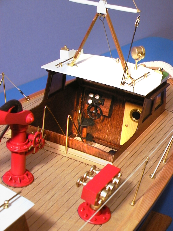 Custom Built Model Fire Boats and Ships