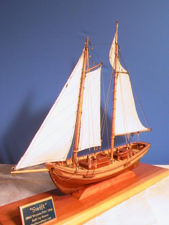 Swift Tall Ship Model